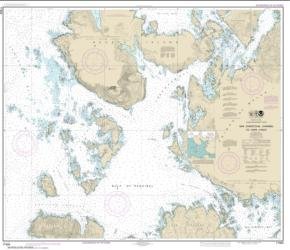 San Christoval Channel to Cape Lynch (17404-15) by NOAA