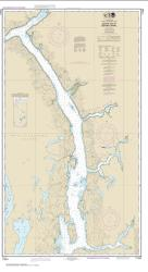 Behm Canal-eastern part (17424-9) by NOAA