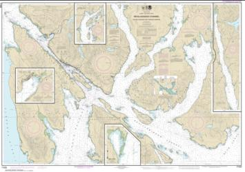 Revillagigedo Channel, Nichols Passage, and Tongass Narrows; Seal Cove; Ward Cove (17428-11) by NOAA