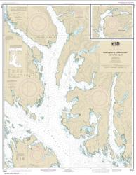 N. end of Cordova Bay and Hetta Inlet (17431-12) by NOAA