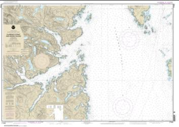 Clarence Strait and Moira Sound (17432-7) by NOAA