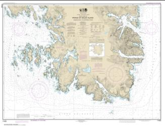 Kendrick Bay to Shipwreck Point, Prince of Wales Island (17433-12) by NOAA