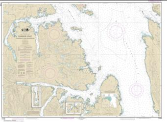 Clarence Strait, Cholmondeley Sound and Skowl Arm (17436-10) by NOAA