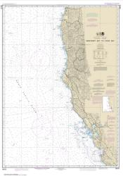 Monterey Bay to Coos Bay (18010-22) by NOAA