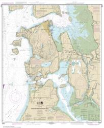 Anacortes to Skagit Bay (18427-24) by NOAA