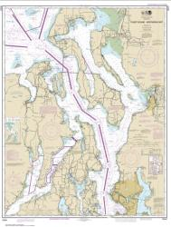 Puget Sound-northern part (18441-47) by NOAA