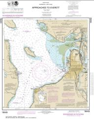 Approaches to Everett (18443-17) by NOAA