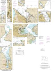 Puget Sound-Possession Sound to Olympia including Hood Canal (18445-34) by NOAA