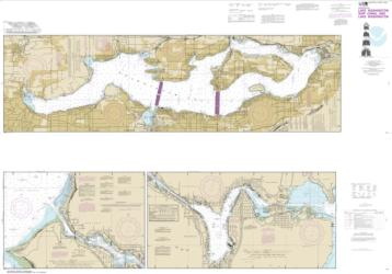 Lake Washington Ship Canal and Lake Washington (18447-30) by NOAA