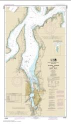 Olympia Harbor and Budd Inlet (18456-21) by NOAA