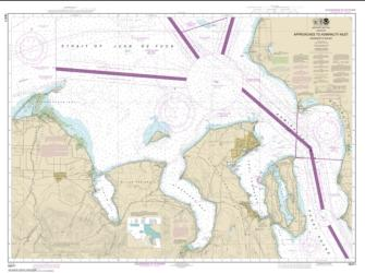 Approaches to Admiralty Inlet Dungeness to Oak Bay (18471-11) by NOAA