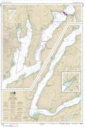 Puget Sound-Hood Canal and Dabob Bay (18476-6) by NOAA