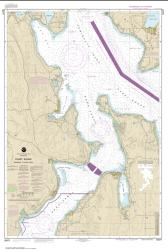 Puget Sound-Entrance to Hood Canal (18477-5) by NOAA