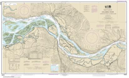Columbia River Harrington Point to Crims Island (18523-58) by NOAA