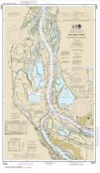 Columbia River Saint Helens to Vancouver (18525-37) by NOAA