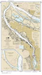 Port of Portland, Including Vancouver; Multnomah Channel-southern part (18526-60) by NOAA