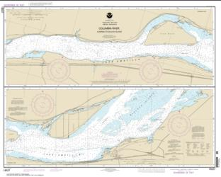 Columbia River Alderdale to Blalock Islands (18537-11) by NOAA