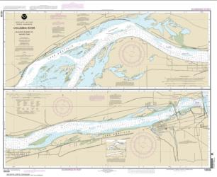 Columbia River Blalock Islands to McNary Dam (18539-9) by NOAA
