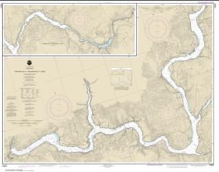 FRANKLIN D. ROOSEVELT LAKE Southern part (18551-8) by NOAA
