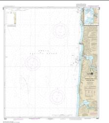 Approaches to Yaquina Bay; Depoe Bay (18561-13) by NOAA