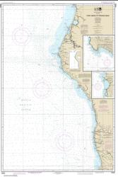 Point Arena to Trinidad Head; Rockport Landing; Shelter Cove (18620-24) by NOAA