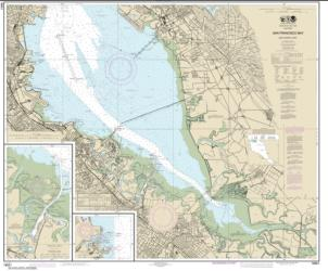 San Francisco Bay-southern part; Redwood Creek.; Oyster Point (18651-45) by NOAA