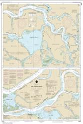 San Joaquin River Stockton Deep Water Channel Antioch to Medford Island (18660-3) by NOAA