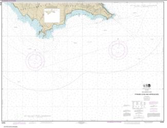 San Clemente Island Pyramid Cove and approaches (18764-10) by NOAA