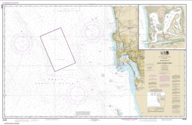 Approaches to San Diego Bay; Mission Bay (18765-17) by NOAA