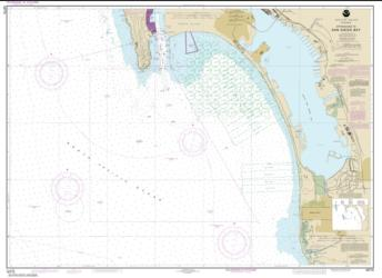 Approaches to San Diego Bay (18772-48) by NOAA