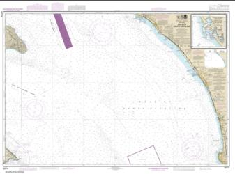 Gulf of Santa Catalina; Delmar Boat Basin-Camp Pendleton (18774-12) by NOAA