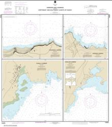 Harbors and Landings on the Northeast and Southeast Coasts of Hawai'i; Punalu'u Harbor; Honu'apo Bay; Honokaa Landing; Kukuihaele Landing (19322-8) by NOAA