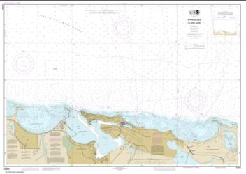 Approaches to San Juan Harbor (25669-1) by NOAA