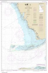 Havana to Tampa Bay Nautical Chart (4148) by NOAA