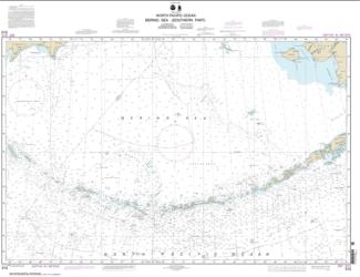 Bering Sea   Southern Part (513-7) by NOAA