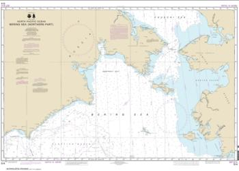 Bering Sea   Northern Part (514-7) by NOAA