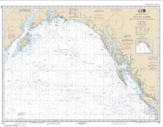 Gulf of Alaska Strait of Juan de Fuca to Kodiak Island (531-24) by NOAA