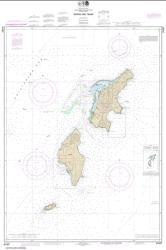 Commonwealth of the Northern Mariana Islands Saipan and Tinian (81067-9) by NOAA